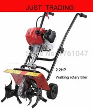 Home using 2.2HP small mini hand push working rotary tiller,rotovator