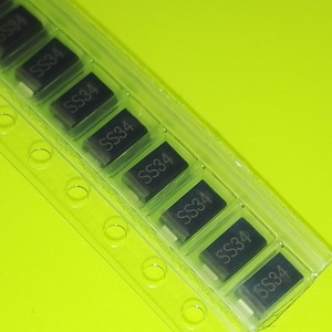 Z254 100pcs 1n5822 sma smd do-214ac Schottky diode ss34