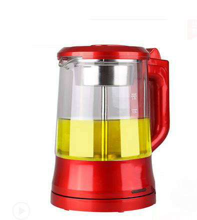 Electric kettle Brew tea pot black pu 'er glass electric steam teapot automatic heat preservation kett Overheat Protection electric kettle brew tea ware black pu er glass electric thermal insulation steam overheat protection