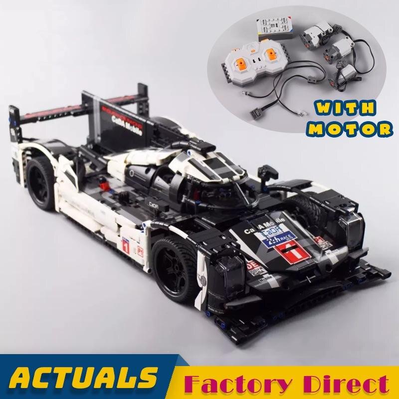 1586 pièces Romote contrôle voiture de course Technic série blocs de construction véhicule briques bricolage jouets éducatifs LegoINGlys avec moteur