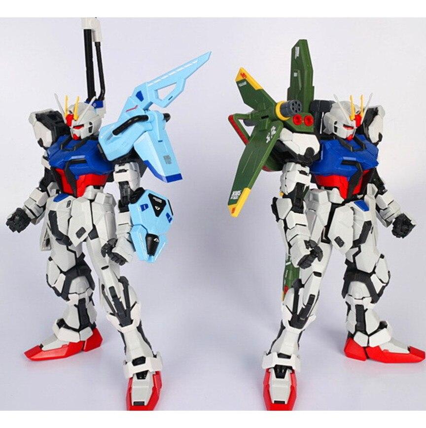 M3 Wapen Apparatuur Zwaard en Launcher pack voor Bandai 1/60 GAT X105 Strike Gundam-in Actie- & Speelgoedfiguren van Speelgoed & Hobbies op  Groep 1