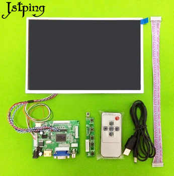 Jstping 10.1 inch HD 1280*800 tablet LCD display screen Control Driver Board Remote Monitor HDMI VGA 2AV LVDS for Raspberry Pi - DISCOUNT ITEM  12% OFF Computer & Office