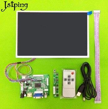 Jstping 10.1 pouces HD 1280*800 tablette LCD écran de contrôle panneau de commande moniteur à distance HDMI VGA 2AV LVDS pour Raspberry Pi