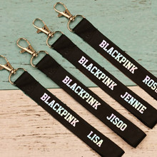 BLACKPINK Name Keychains Straps (4 Models)