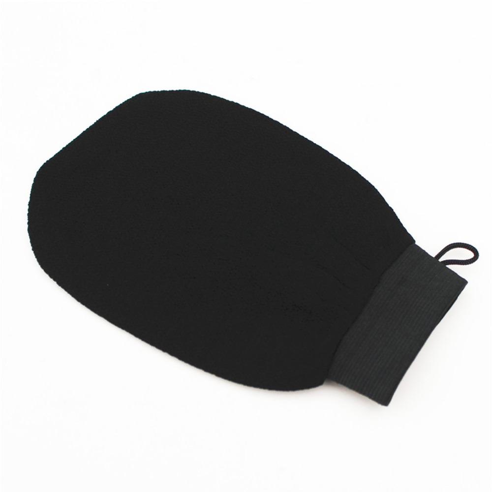 Top 1PC Magic Black Exfoliator Bath Glove Body Cleaning Scrub Mitt Rub Dead Skin Removal Shower Spa Massage