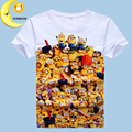 Hot children kids baby boys girls t shirt new summer minions clothes despicable me boy clothing short sleeve children's t-shirts