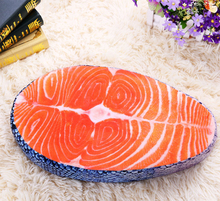 50*27cm Simulated 3D Salmon Cushion Decorative Throw Pillows Back Cushion Creative Sleeping Plush Pillow