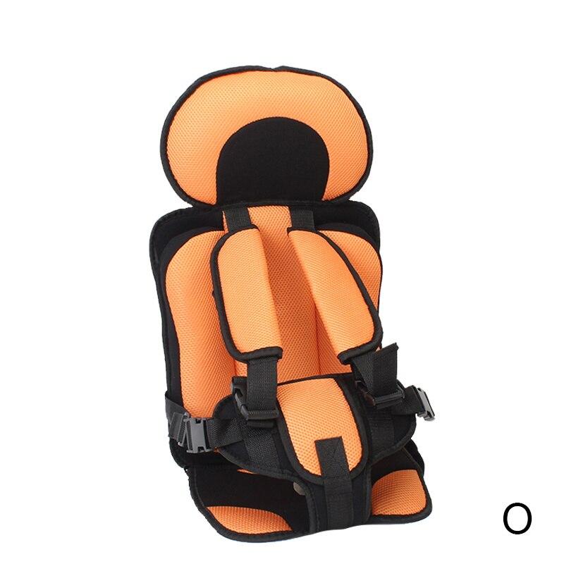 1 шт. удобный детский коврик для сидения, Детские Портативные дорожные подушки для стульев с ремнем безопасности, коврики для сидения для малышей в возрасте От 6 месяцев до 12 лет - Цвет: O