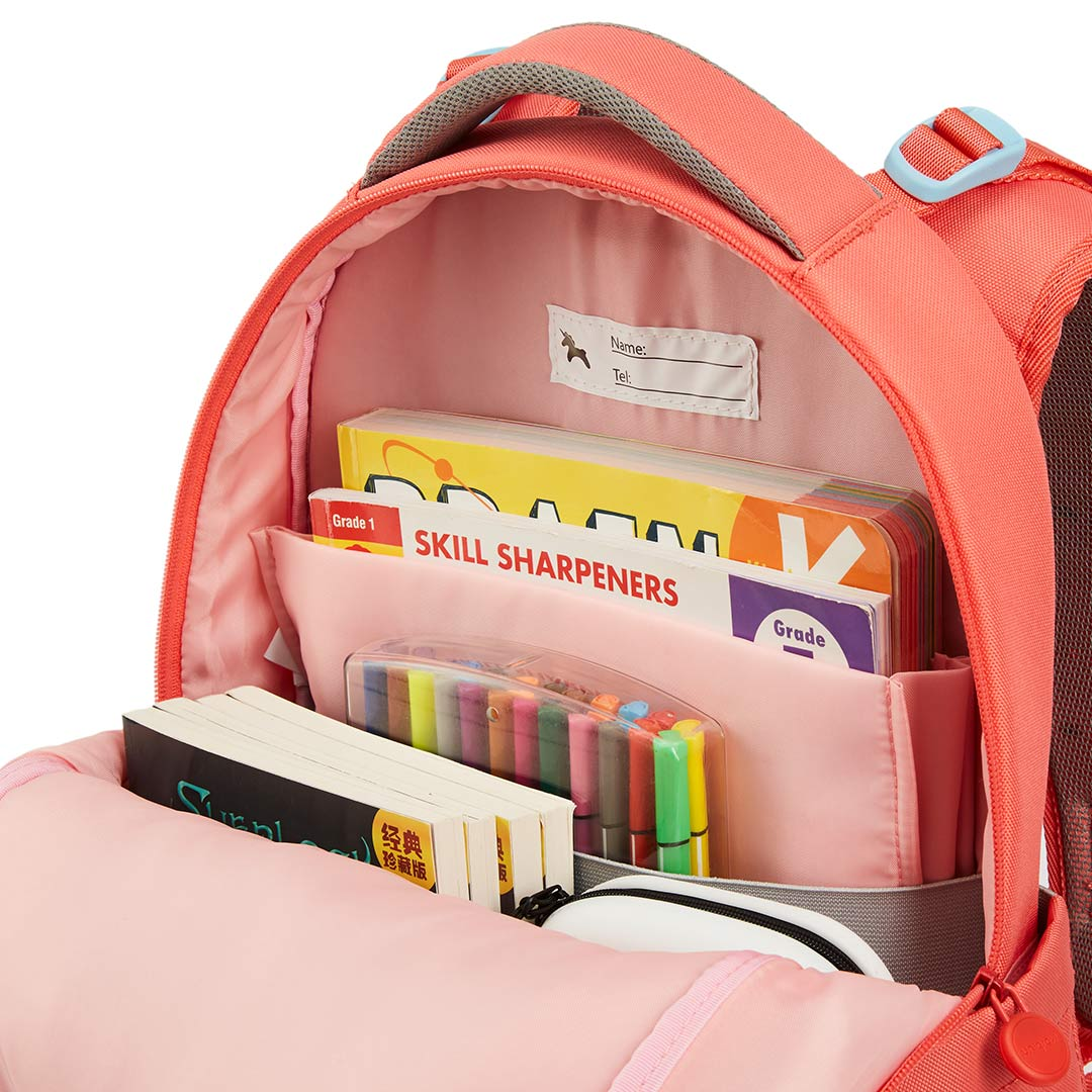 Купить с кэшбэком 25L Kids Children Backpack Rucksack Adjustable Reflective Large Capacity Student School Shoulder Bag Girls Boys Waterproof Bag