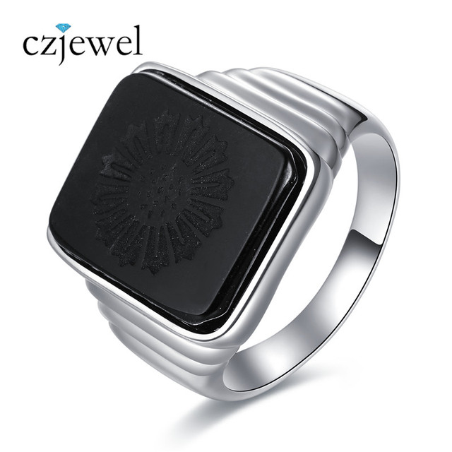 men onyx p ring s jewellery stones unique silver product zircon sterling and