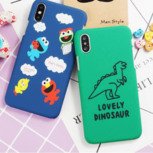 For Xiaomi Mi A2 Lite A1 8 SE Youth Explorer 5X 6X Max 3 2 Note 6 5 5S Plus 4 4C 5C Mix 2 2S Case Covers Cute Cartoon Dinosaur