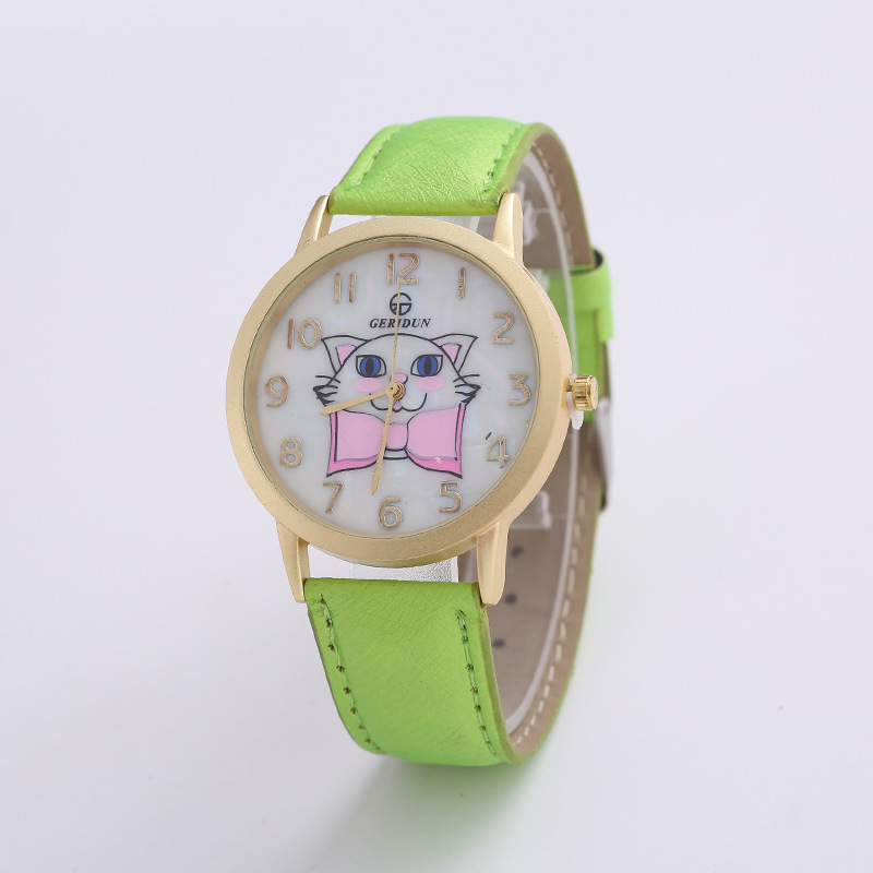 Women Watches Luxury Quartz Stainless Steel Dial Leather Band Female Wrist Watch ladies Watches