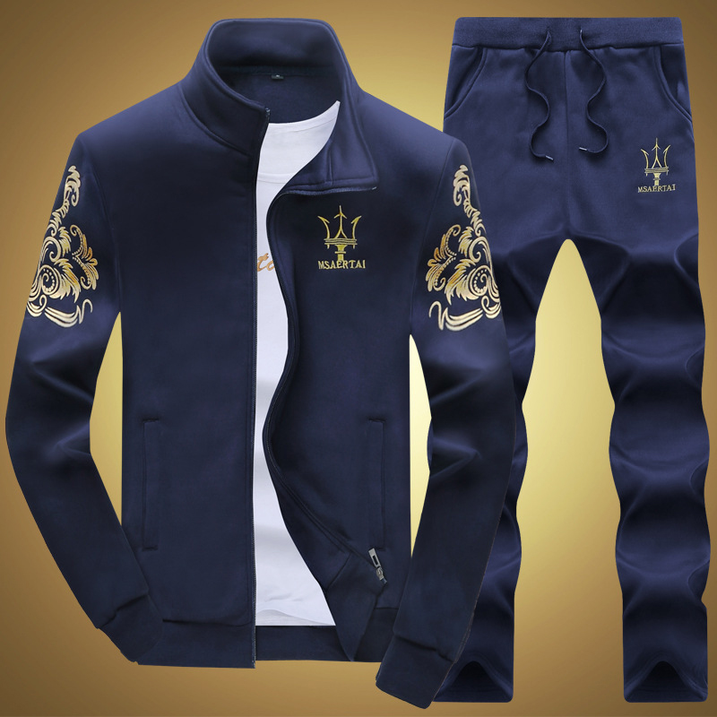 ФОТО 2016 men's leisure suits  autumn sweater coat long-sleeved jogging suit baseball  sportswear printing fishing clothing
