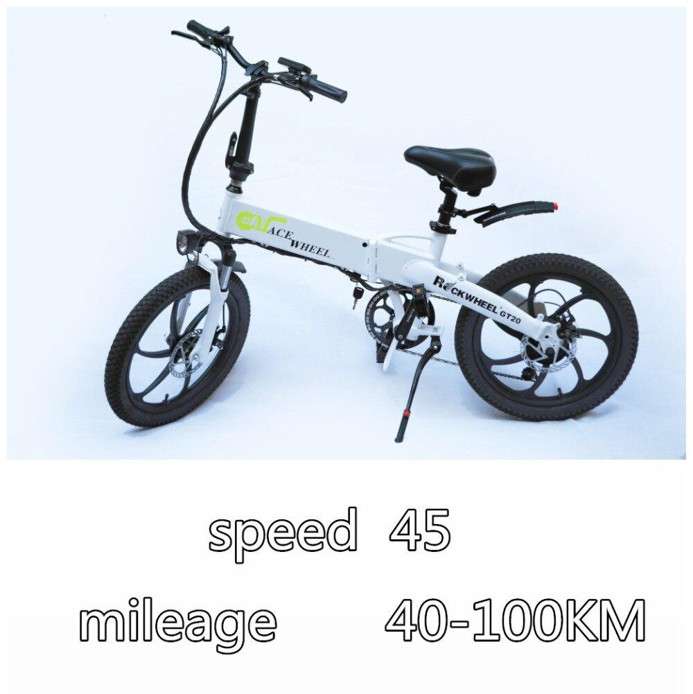 GT20 Электрический велосипед 48 В