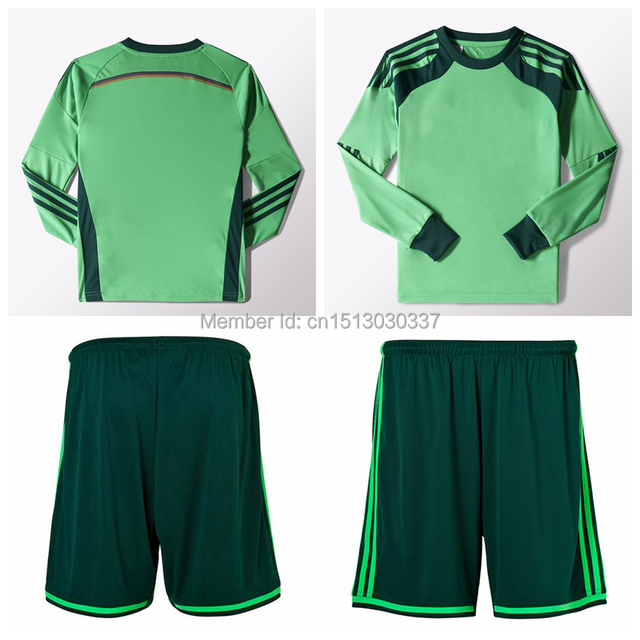 Top Quality Thai Germany soccer jersey goalkeeper jersey Manuel Neuer  jersey 4 Stars kit World Cup 2014 Germany goalkeeper shirt 4afe9fc41