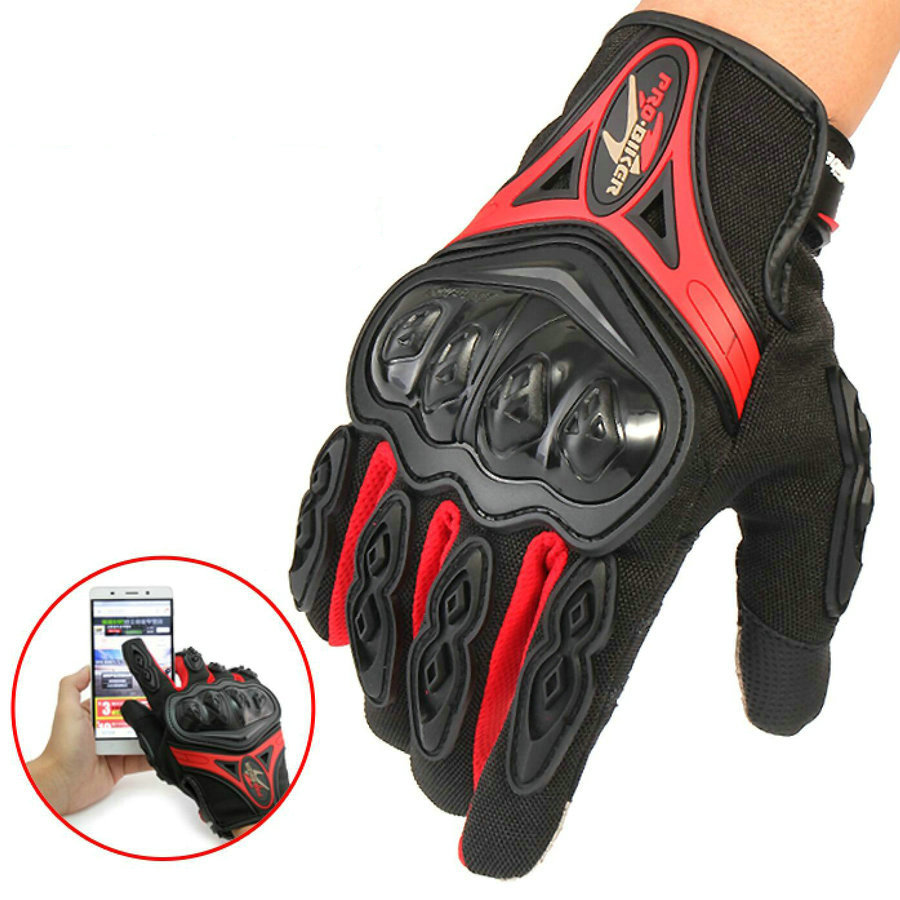 Motorcycle Gloves Winter Warm Touch Screen Windproof Protective Gloves Guantes Moto Luvas Alpine Motocross Stars