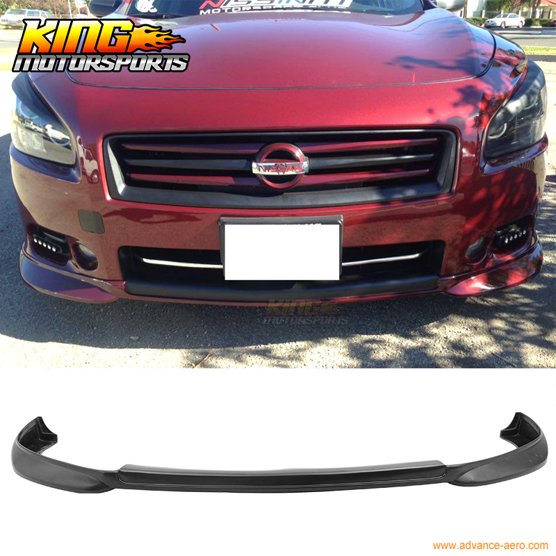 2009 Nissan Maxima Exterior: For 2009 2015 Nissan Maxima ST Style Front Bumper Lip