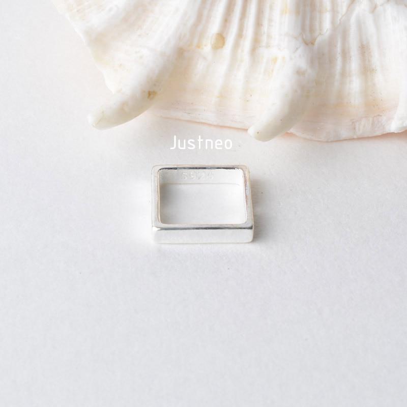 纯银正方形珠框 (2)