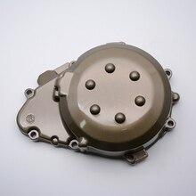 Estator cárter izquierdo + cubierta del motor de arranque de aluminio de la motocicleta para kawasaki zx9r zx-9r 1998-2003