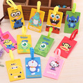Rectangle Shaped Cartoon Travel Accessories Luggage Tag Suitcase Travel Bag Luggage Label
