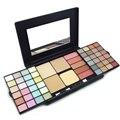 48 Cor Nu Sombra Pincel Conjunto de Ferramentas de Maquiagem Profissional Shimmer Eyeshadow Blush Face Powder Makeup Palette Cosméticos Kit