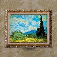 手作りの壁アートホーム装飾絵画風景ゴッホ油絵有名な絵画無料出荷いいえフレーム