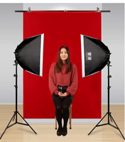 LED studio insured photo replacement still life photo lighting set human image photo room light flexible box CD50