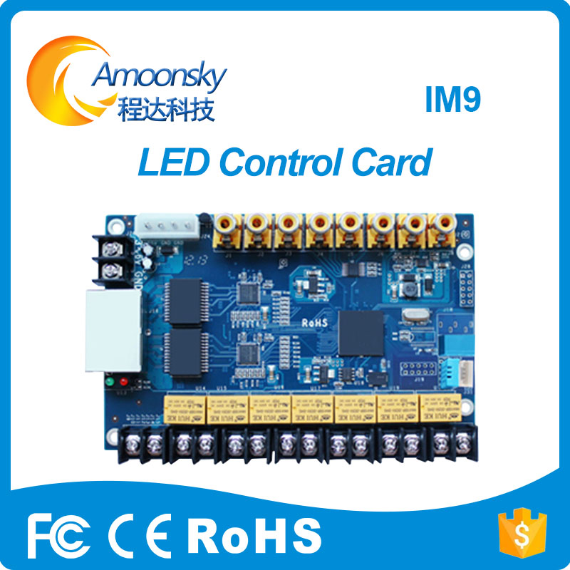 Outdoor LED RGB Display Colorlight IM9 Multi-function Card Replace Colorlight Multi-function Control Card M9 Best Price multi function green