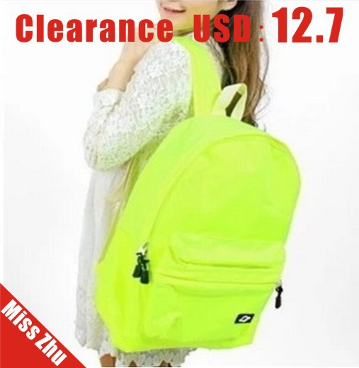Aliexpress.com : Buy Clearance!!! Neon yellow green ufo backpack ...
