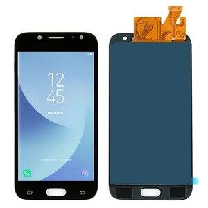 Image 3 - Samsung Galaxy için LCD J5 2017 J530 SM J530F J530M LCD ekran dokunmatik ekranlı sayısallaştırıcı grup Parlaklık Ayarı + Yapıştırıcı