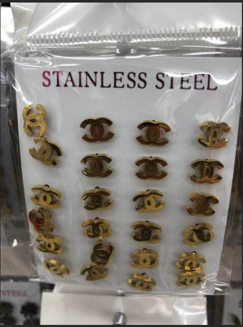 12pairs/lot High Quality Stainless Steel Stud Earrings 6mm Studs Women Fashion Jewelry Wholesale Earrings Fixing Prices According To Quality Of Products