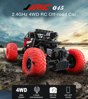 JJRC Q45 RC Cars 1/18 2.4GHz 4WD RC Off Road Car WiFi FPV 480P Camera APP Control Independent Suspension System Cars Toys Gifts
