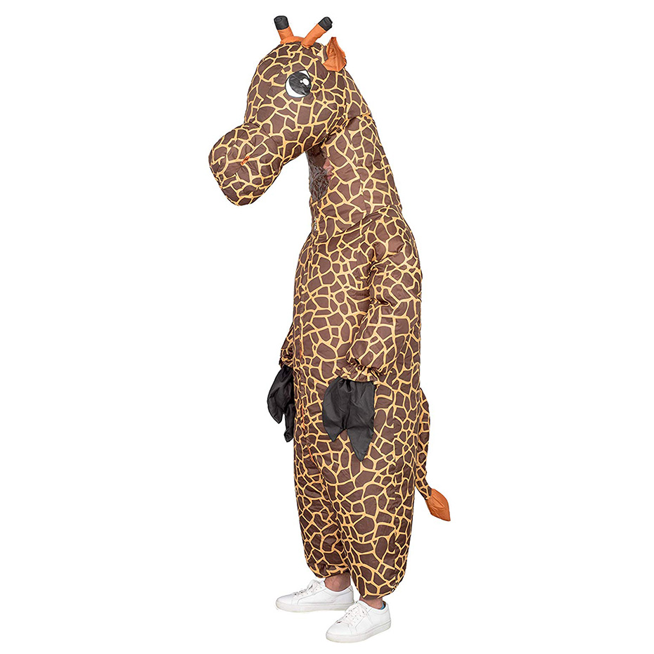 Adult giraffe inflatable suit cute interesting stage performance party party dance cosplay show costume show adult party annual