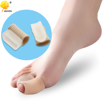 1 pair Big Toe Separator Hallux Valgus Corrector Bone Thumb Straightener Bunion Stretchers Protector Massage Foot Care Tools