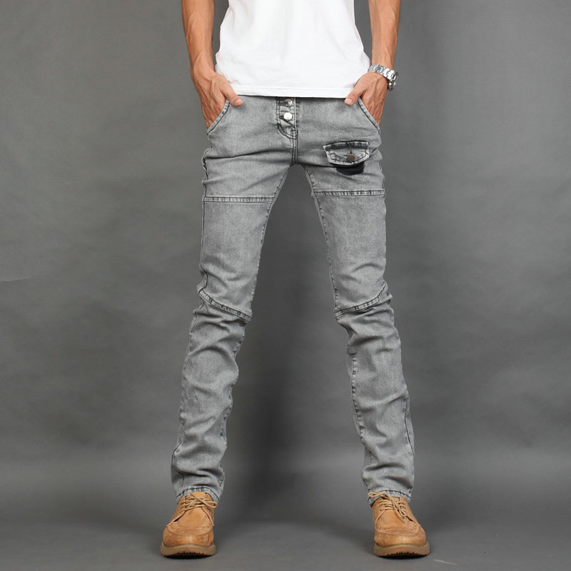 Aliexpress.com : Buy Free shipping! Casual Washed Grey Personality ...