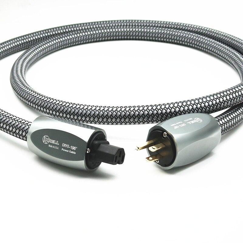Krell CRYO196 câble d'alimentation HIFI US cordon d'alimentation Audiophile ca pour amplificateur lecteur CD ligne électrique ue câble d'alimentation hifi