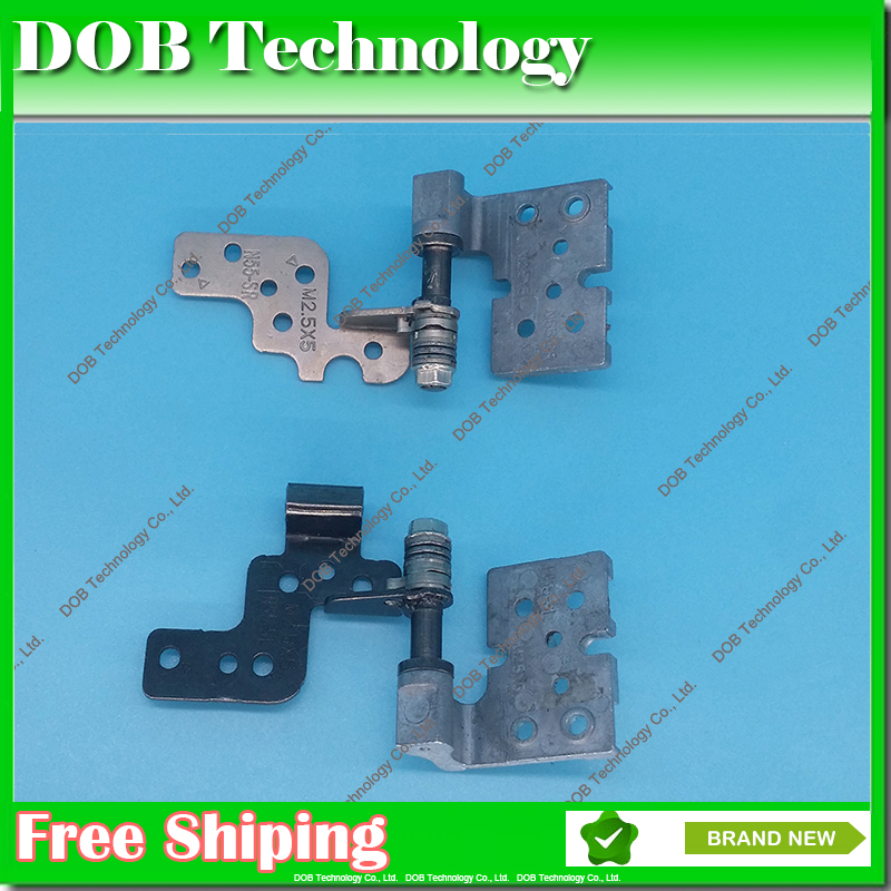Original LCD Hinges for Asus N55 N55V N55S N55SV N55SF hinges N55J N55JR N55JC N55SL N55U N55-SR N55-SL hinges Left Right