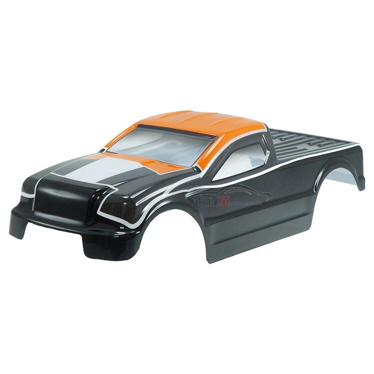 Бесплатная доставка dhk 8382-012 печати оболочка-оранжевый/серый-наклейки dhk RC ccessories 450*140*150 мм высокого качества для автомобиля rc ...
