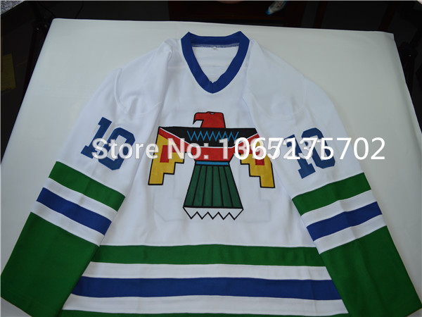 b502bbca4  10 Supreme THUNDERBIRD HOCKEY Jerseys TOP JERSEY SMALL BRAND NEW BLACKHAWK  FIELD PULLOVER