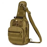 Size Large MOLLE System Ultra Light Heavy Duty Single Shoulder Sling Chest Bag Range Soldier Ultimate