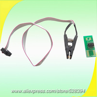 Original HKPAM Global Frete Grátis Flash SOP8 SOIC8 Clip/Clipe De Teste para USB Progrmmer universala BIOS/24/25/93