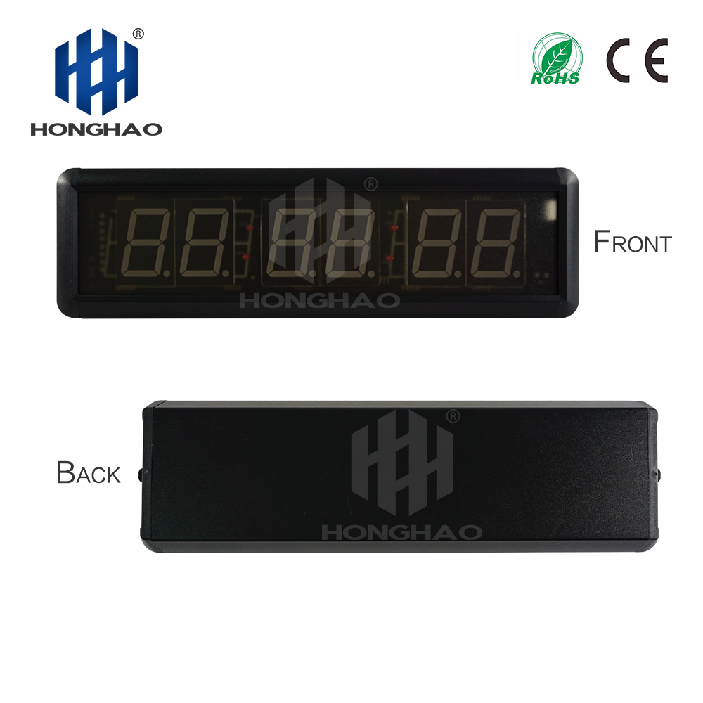 Large digital stopwatch timer garage gym online clock amazon wall