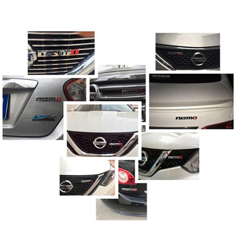 Хромированные Авто наклейки NISMO, передняя решетка, значок, эмблема, автомобильный Стайлинг для Nissan Tiida Teana Skyline Juke X-trail Almera Qashqai