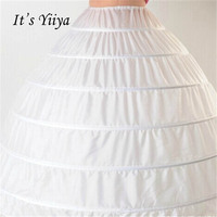 It S Yiiya White 6 Hoops Ball Gown Petticoat Wedding Accessories Bride Crinoline Underskirt Velos De