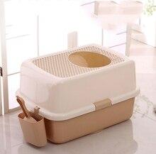 Portable Cat Litter Box  Toilet Bedpan Waterproof Anti Splash Bedding Doormat Pet Products for Dog Supplies 30SP018