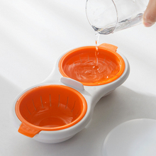 Steamed Egg Bowl Egg Poacher Cook Poach Pods Egg Tools Microwave Oven Poached Baking Cup Cooking Kitchen Accessories
