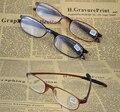 [! Три ПАРЫ!] полный обод tr90 супер свет Прочный анти аллергия модные мужчины женщины очки для чтения + 1 + 1.5 + 2 + 2.5 + 3 + 3.5 + 4