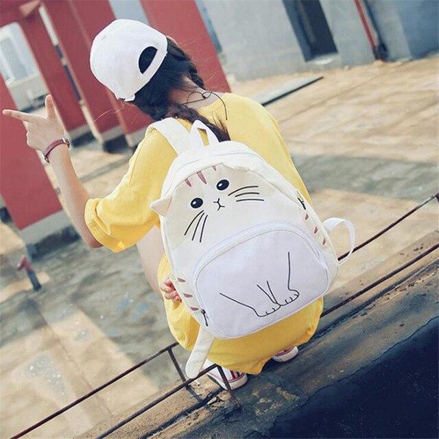 Рюкзак с милым котиком 2