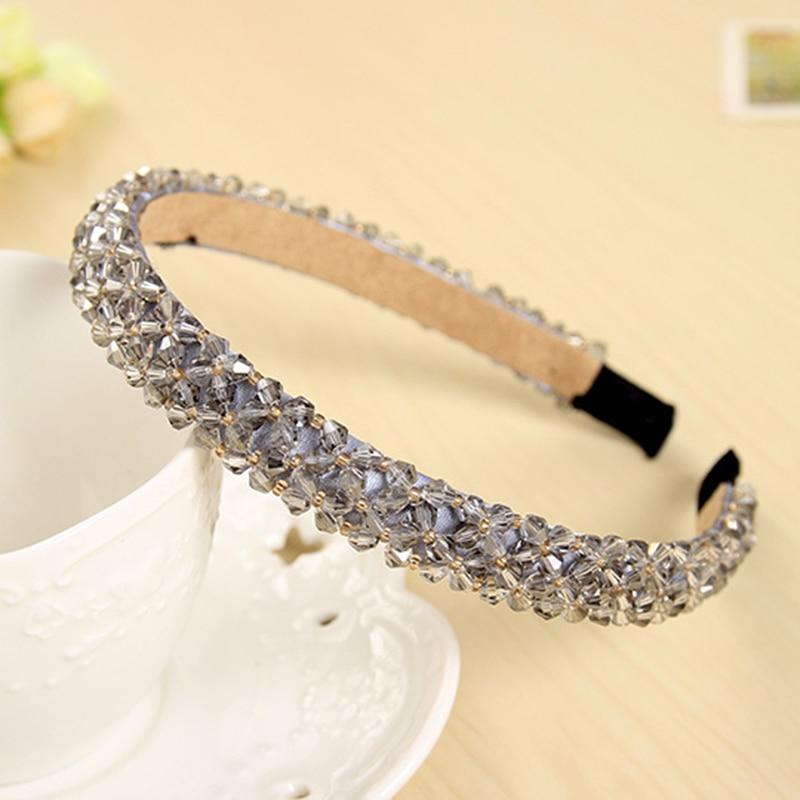 Shining Crystal Fashional Modern Style Headband Hairbands for Girls Headwear  Hair Accessories for Women fashional modern black