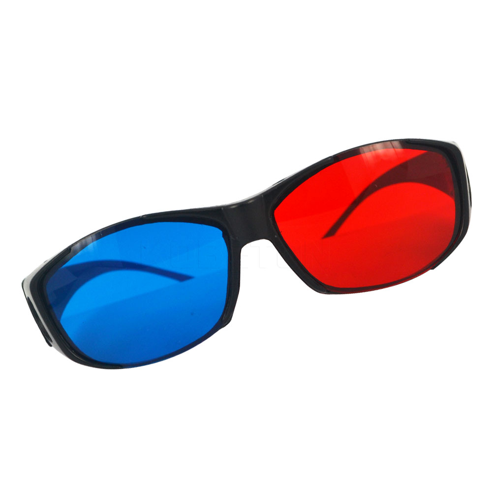 Vr/ar Devices 2pcs 3d Red Blue Red-blue Glasses Cyan Myopia General Vision Dimensional Anaglyph Eyewear Glass For Plasma Tv Game Stereo Movie